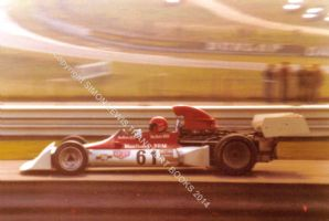 BRM P160 Niki Lauda Brands Hatch 1973  photo
